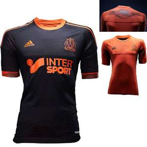 Maillot de l'OM noir et orange