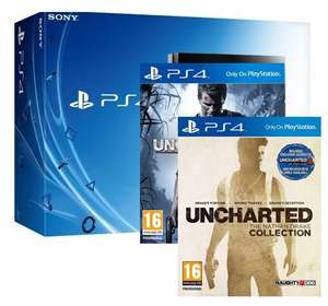 Pack Console PS4 500Go + Uncharted collection + Uncharted 4