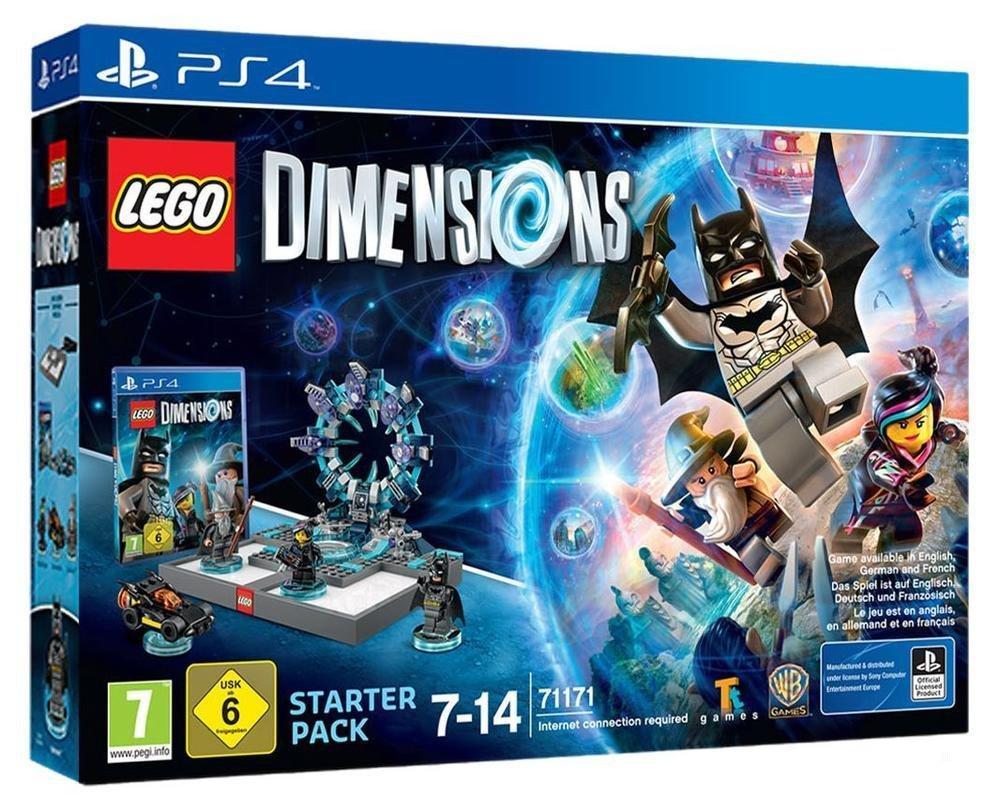 Pack de démarrage Lego Dimensions sur PS4 / Xbox One / PS3 / 360