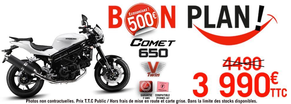 Moto Hyosung GT 650 Comet