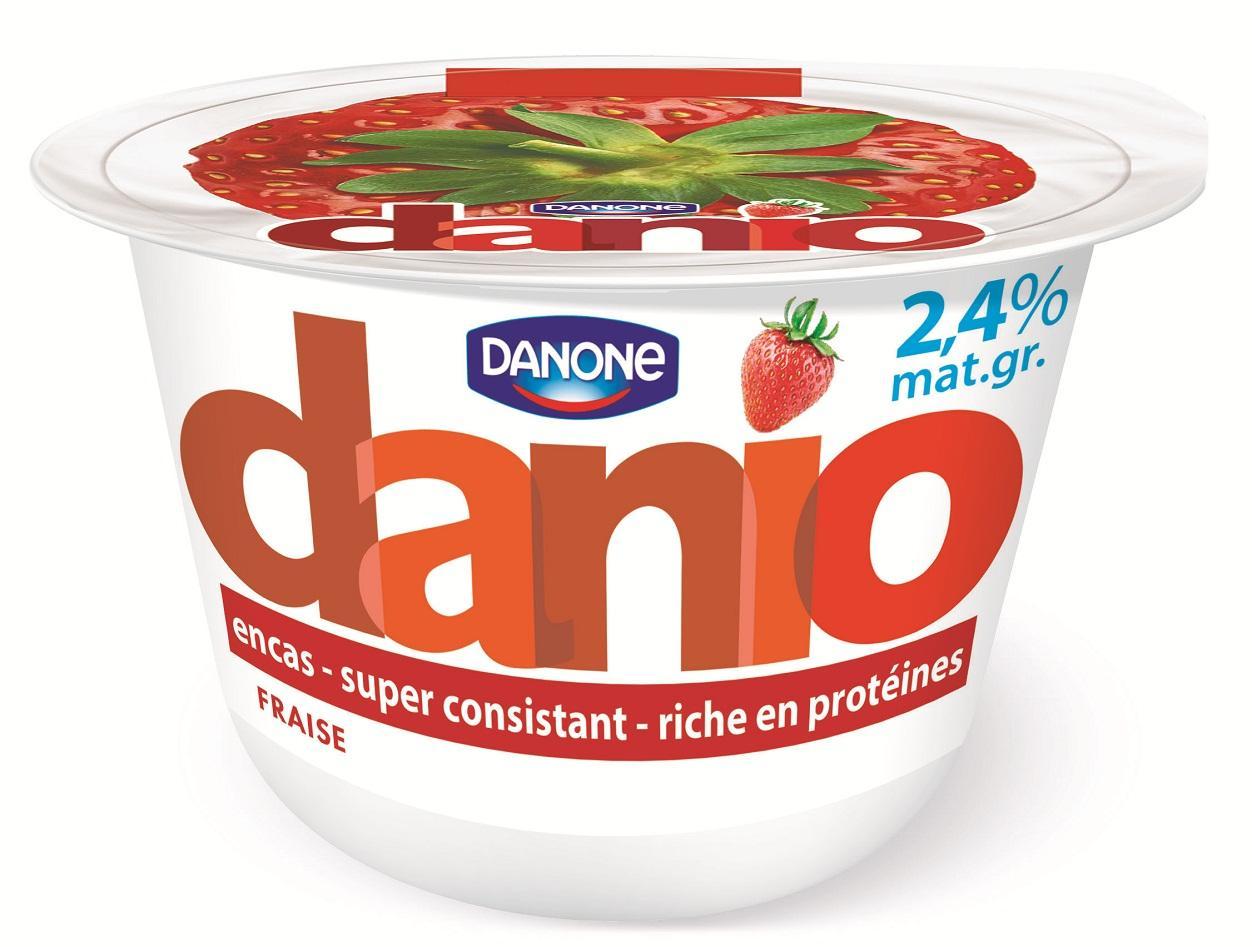 2 pots de Danio de Danone - 150g (via BDR de 0.75€)