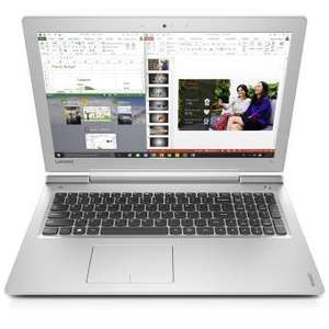 """PC portable 15.6"""" Lenovo Ideapad 700-15ISK (FHD IPS mat, i7-6700HQ, 8 Go, GTX 950M, 1 To, wifi ac, emplacement libre SSD)"""