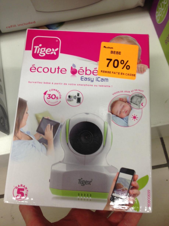 Ecoute-bébé vidéo Tigex Easy ICam