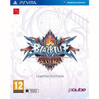BlazBlue: Chronophantasma Extend - édition Limitée (en anglais) sur PS Vita / PS3 à 19.99€ et sur PS4 / Xbox One