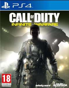 Précommande :  Call of duty infinite warfare PS4