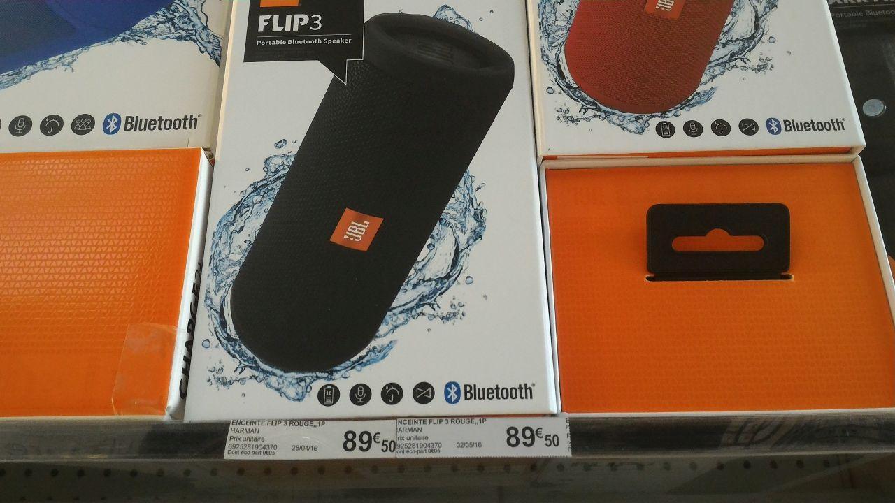 Enceinte bluetooth JBL Flip 3