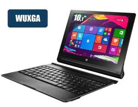 """Tablette 10,1"""" Full HD  Lenovo Yoga Tablet 2 10-51(Intel Z3745, 2 Go RAM, 32 Go Rom)  + clavier - Reconditionnée (Garantie 6 mois)"""