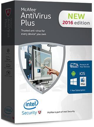 Logiciel McAfee Antivirus Plus gratuit (licence 6 mois)
