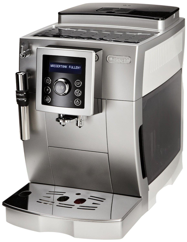 Cafetière automatique DeLonghi ECAM23.420SW - Silver et Blanche