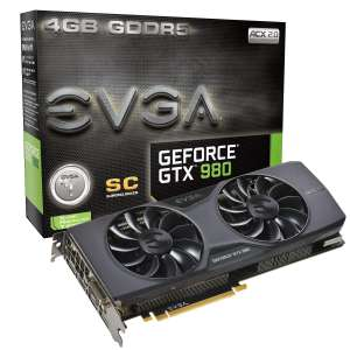 Carte graphique GeForce GTX 980 Superclocked ACX 2.0 - GDDR5, 4 Go