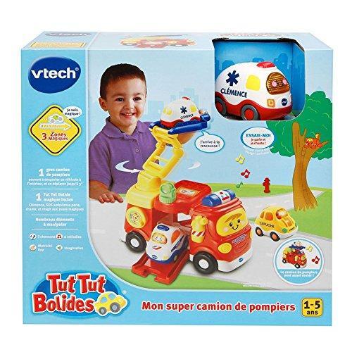Tut Tut Bolides Mon Super Camion De Pompiers + Clémence Sos Ambulance