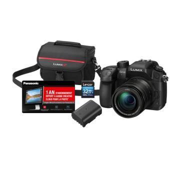 [Adhérents] Appareil Photo Hybride Panasonic GH4 Noir + Objectif 12-60 mm + 2ème Batterie + Carte SD 32 Go + Etui + 1 An d'abonnement à Adobe Creative Cloud