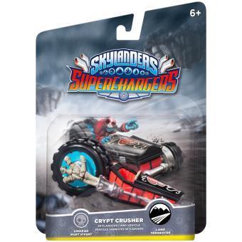 Figurine Skylanders Superchargers Véhicule Crypt Crusher