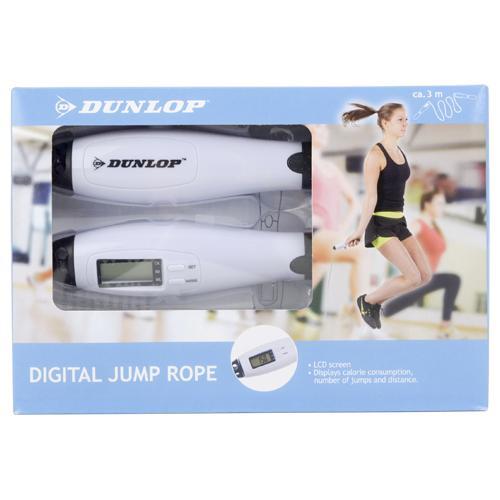 Corde à sauter Dunlop avec compteur digital