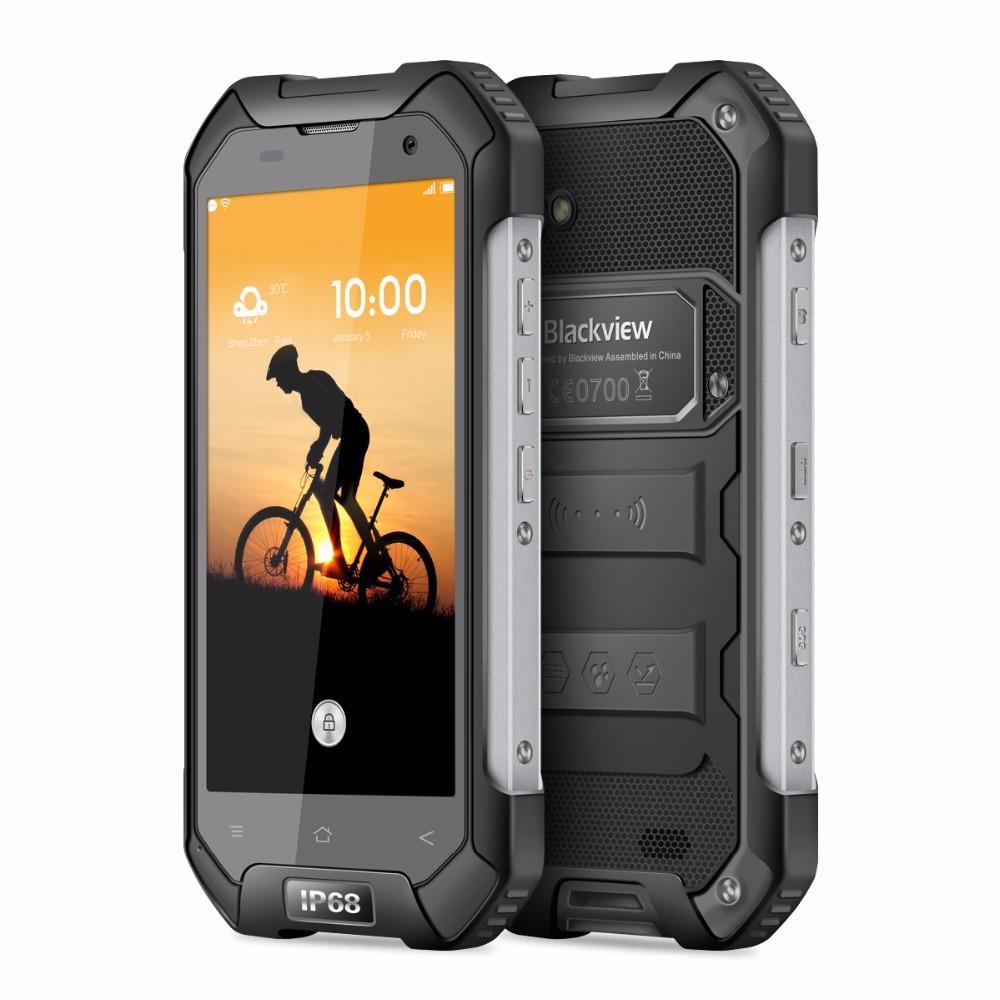"Smartphone 4,7"" Blackview BV6000 - Helio P10, 3 Go RAM, 32 Go, 4500 mAh, Antichocs, Etanche IP68"