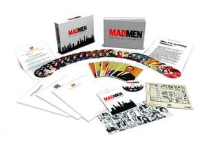 Coffret Blu-ray intégrale Mad Men - Edition Collector (Anglais)