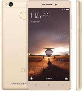 "Smartphone 5"" Xiaomi Redmi 3 Pro Or - 4G, Snapdragon 616, RAM 3 Go, ROM 32 Go (via l'application)"