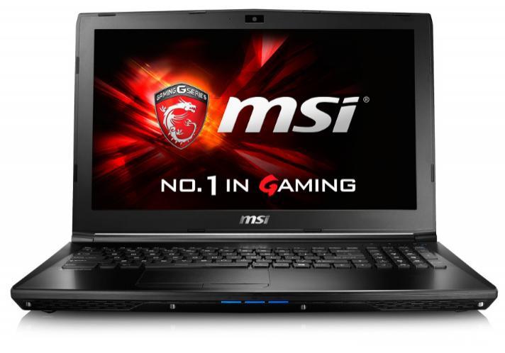 """PC portable Gamer 15.6"""" Full HD  MSI GL62 6QF-622FR (i5-6300HQ, 8 Go RAM, 1 To HDD, 128 Go SSD, GTX 960M, Windows 10)"""