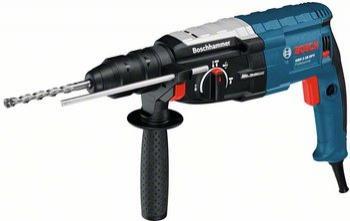 Coffret perforateur-burineur Bosch GBH 2-28 DFV Professional (avec coffret et mandrin bois supplémentaire)à