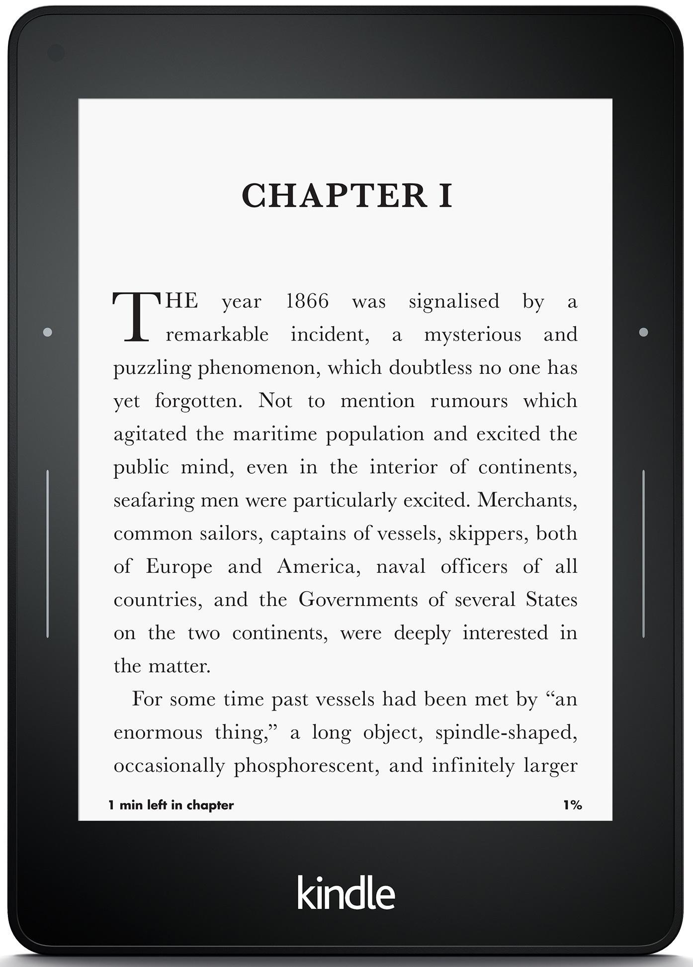 """Sélection de promotions sur les Kindles - Ex : Kindle Voyage 6"""" - Wifi, éclairage frontal adaptatif"""