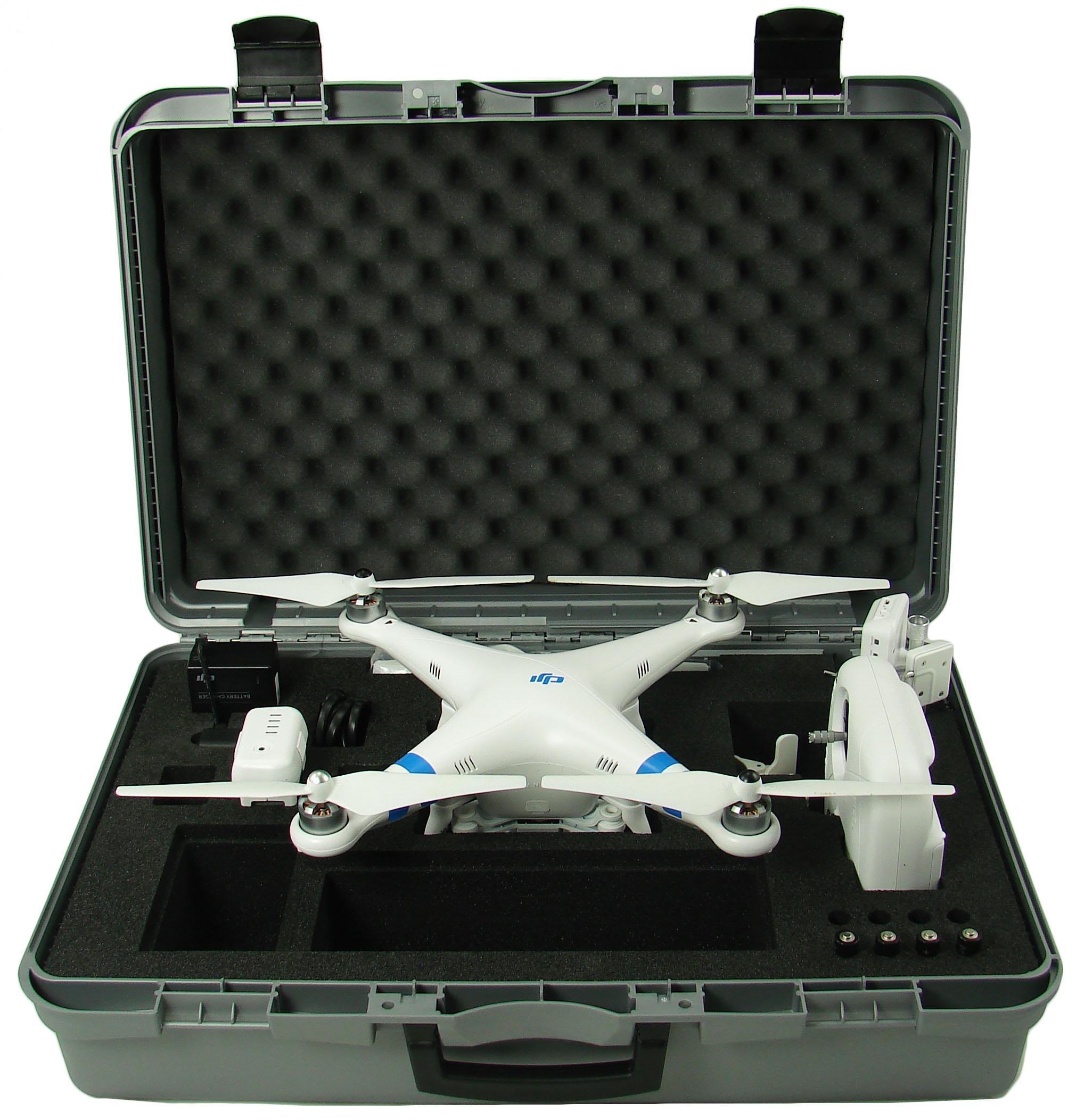 Drone Phantom 2 Vision+ Upgraded avec valise de protection