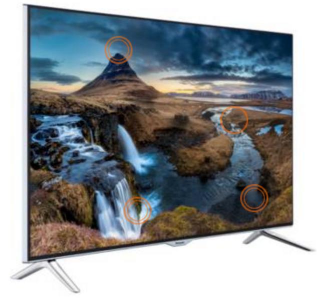 """TV 55"""" Panasonic TX-55CX400E - 4K UHD, 400HZ, Smart TV, 3D"""