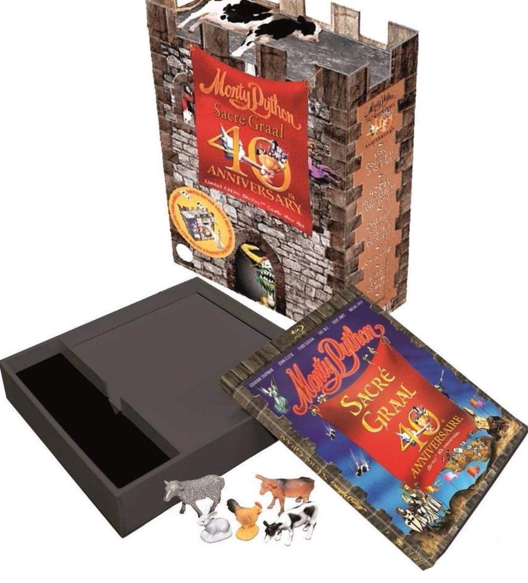 Coffret Blu-ray Monty Python : Sacré Graal - édition limitée 40ème Anniversaire