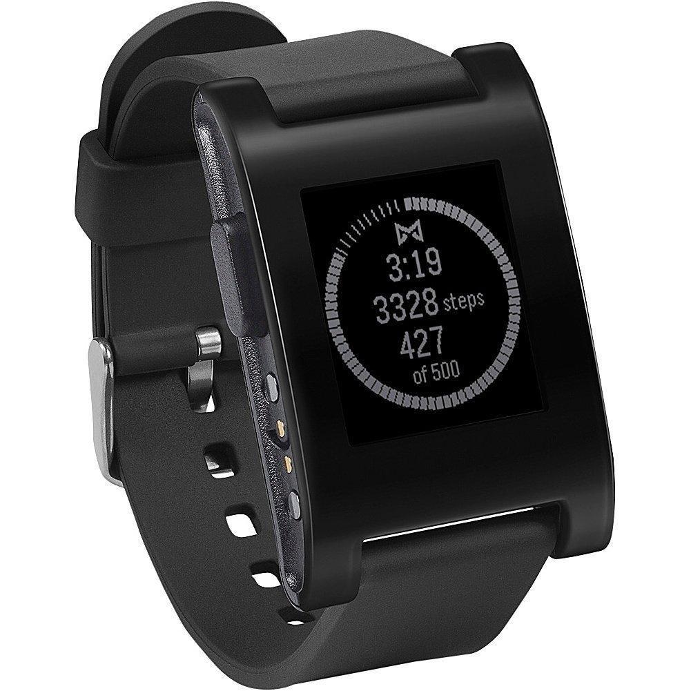 Montre Connectée Pebble Smartwatch Noire