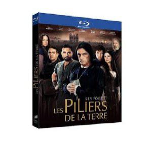 """Les piliers de la Terre (""""saison"""" 1) en BluRay"""