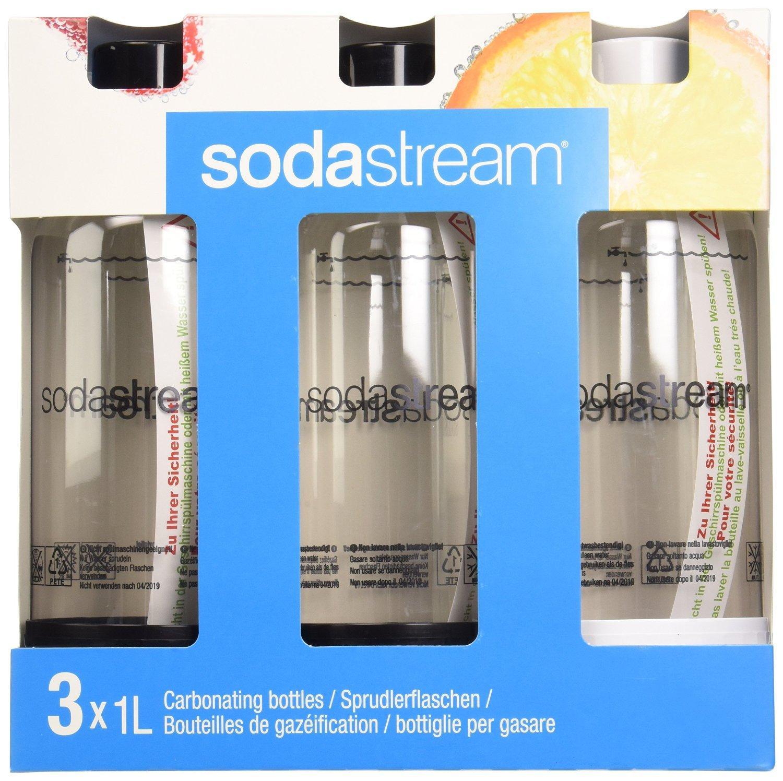 Pack de 3 bouteilles Sodastream (1 Litre)