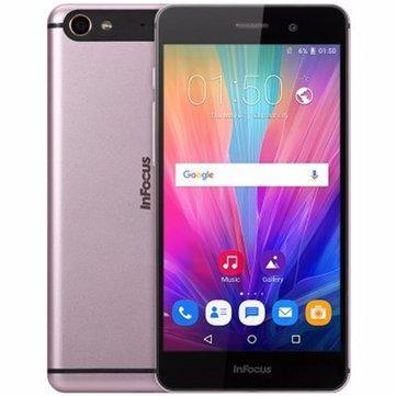 """Smartphone 5.2"""" Infocus M808 - mt6753, FullHD, 2 Go de ram, 32 Go, Or Rose"""