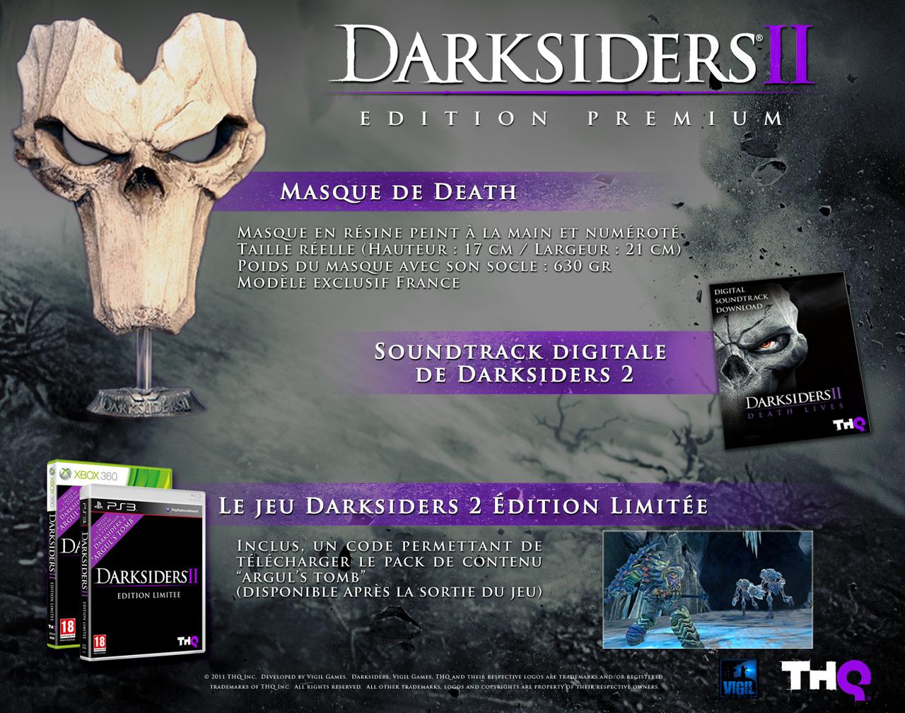 Darksiders 2 Edition premium sur PS3
