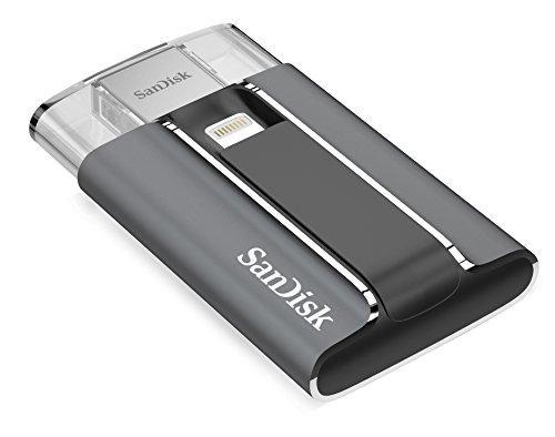 Clé USB SanDisk iXpand 128 Go compatible avec les produits Apple