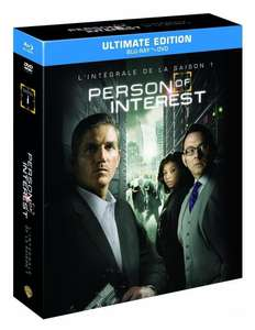 Combo Blu-Ray + DVD Person of Interest - L'intégrale de la Saison 1