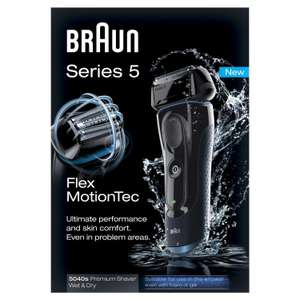 Rasoir Electrique Braun 5040 (Series 5,  Wet and Dry)