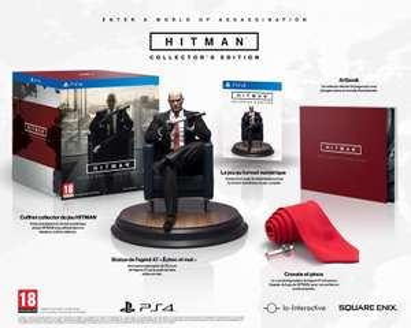 Hitman - Collector's Edition sur PS4 et Xbox One
