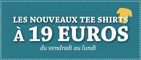 A partir de demain : T-shirt Lafraise