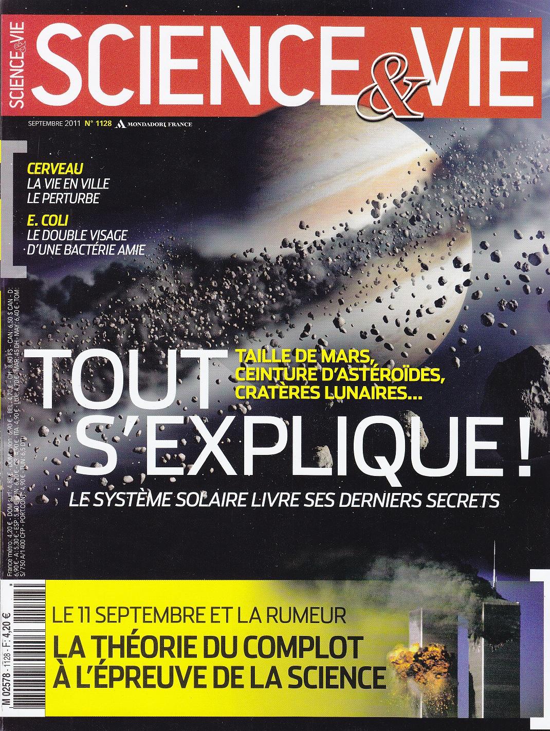 Dernier numéro de Science et Vie gratuit en version numérique