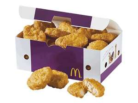 Une boîte de 20 Nuggets offerte pour 2 Menus Maxi Best of achetés (commande en ligne)