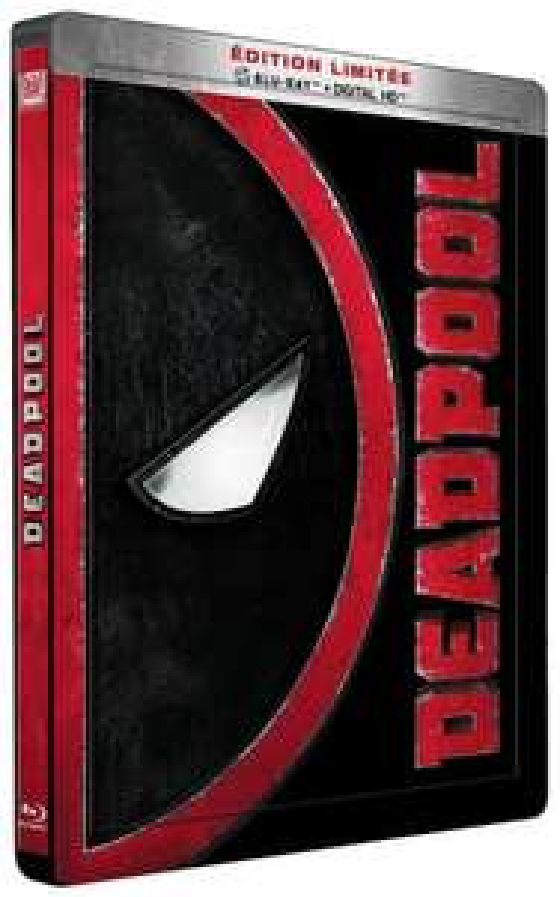 Bluray Deadpool Édition Limitée SteelBook (via 5€ sur la carte)