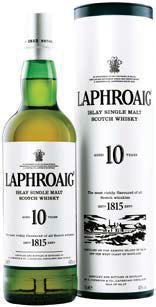 Bouteille 70 cL de Single Malt Scotch Whisky Laphroaig 10 ans