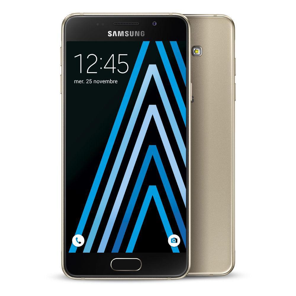 """Smartphone 4.7"""" Samsung Galaxy A3 2016 pour la souscription d'un Forfait sans engagement à 8,99€/mois (Via ODR 50€)"""