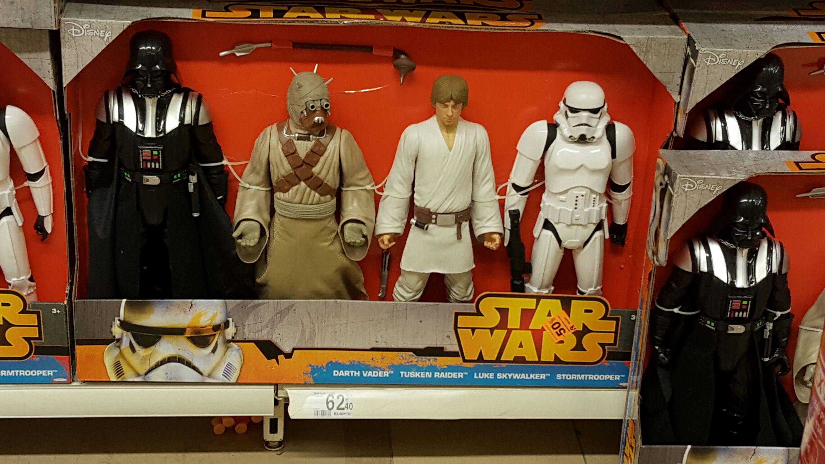50% de réduction sur une sélection de Jouets Star Wars et Marvel - Ex : Lot de figurines Marvel