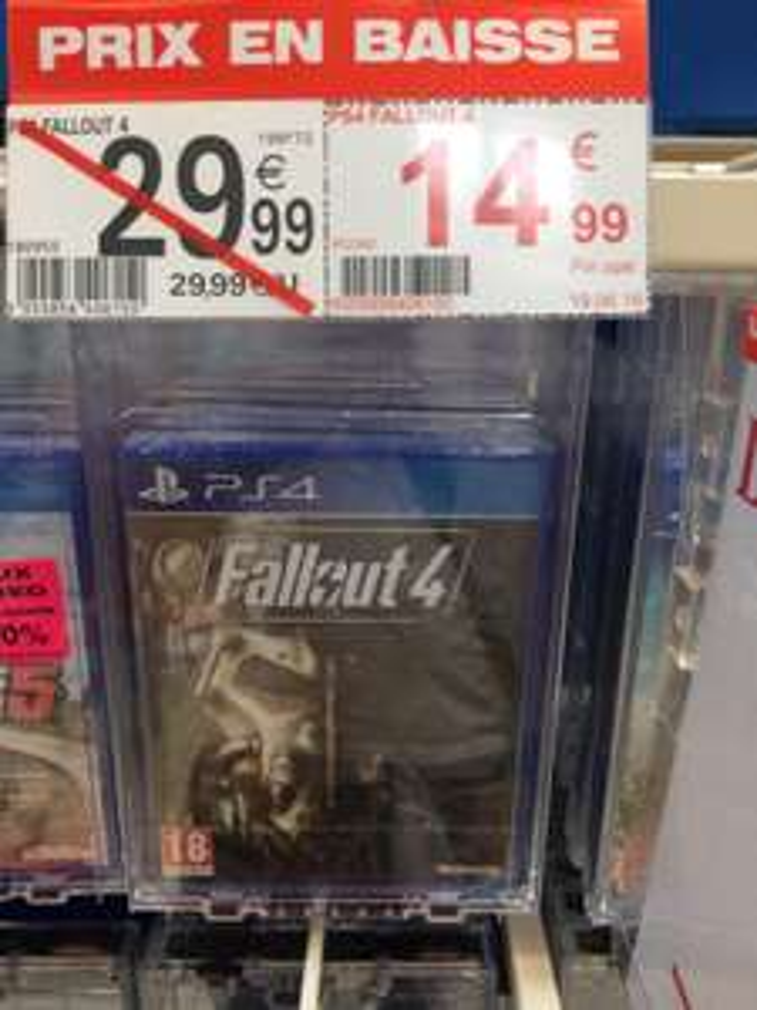 Jeu Fallout 4 sur PS4