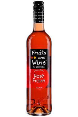 Lot de 2 bouteilles de rosé fruits and wine (Via BDR)