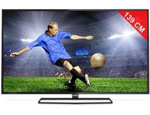 "TV LED Philips 55"" 55PFH5500/88 - Full HD, 200HZ, Wifi"