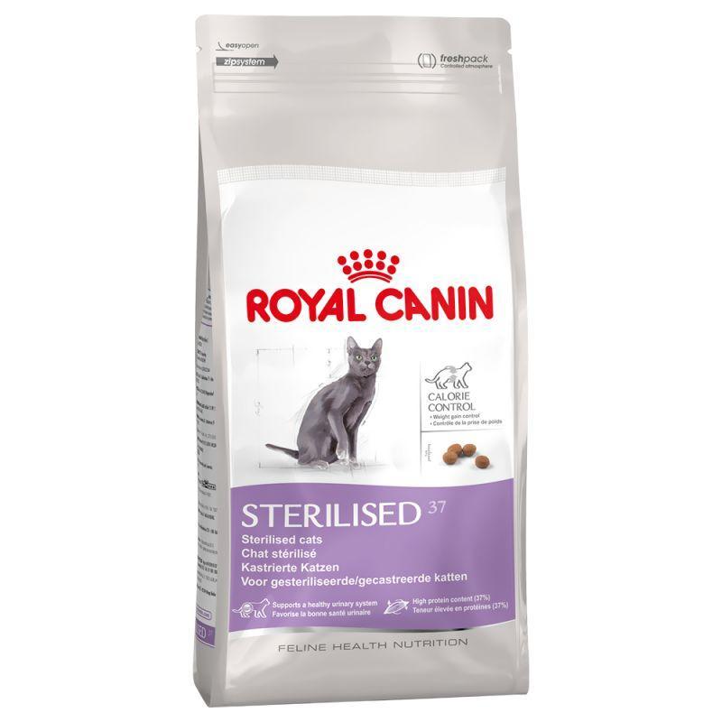 2 Sacs de croquette pour chat stérilisés Royal Canin - 2x10Kg