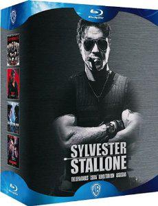 Sylvester Stallone - Coffret - The Expendables + Cobra + Demolition Man + Assassins Blu Ray