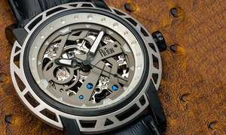 Montre automatique Reign Stavros avec bracelet en cuir (6 modèles au choix)