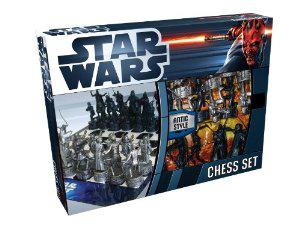 Jeu d'échecs Star Wars All-in-One UT21076